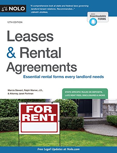 Leases & Rental Agreements por Marcia Stewart