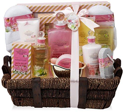 Gloss! Coffret de Bain Premium Garden Dreams Jasmin & Magnolia, Lys & Freesia & Rose 14 Pièces