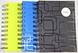 Pack 3 A5 SPIRAL BOUND NOTEBOOK -Ruled, School, College, Home, Office Stationery - Other - amazon.co.uk