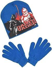 Star Wars - Set de bufanda, gorro y guantes - para niño