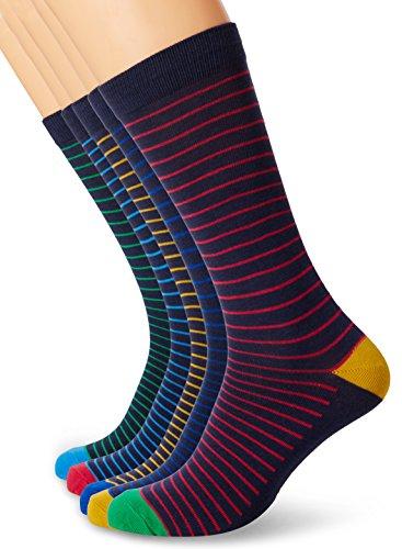 Joules Sox Box Brillant Bambus 5pk Socke Satz (w) Multicoloured (Multi Stripe)