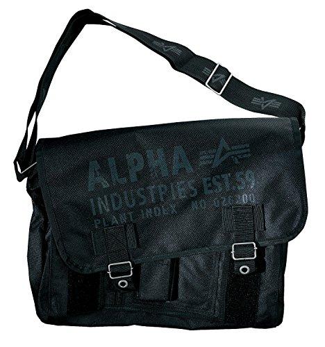 Preisvergleich Produktbild Alpha Industries Cargo Oxford Courier Bag Laptoptasche Kuriertasche 90705