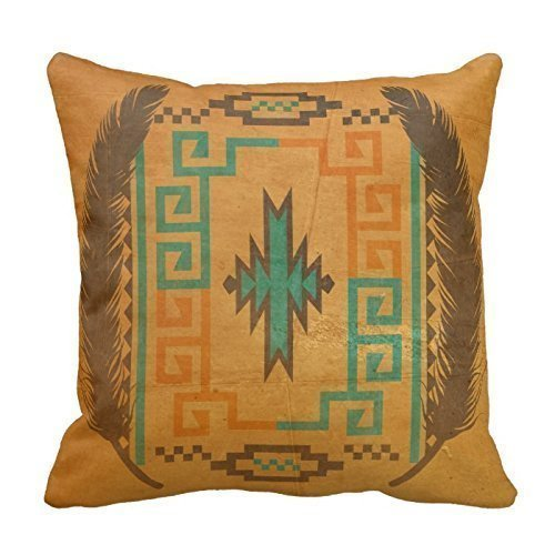 CottonHouse Vintage Navajo Pillowcases One side