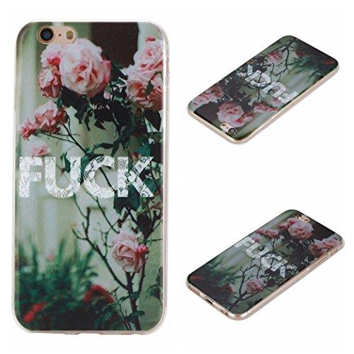 Voguecase® Per Apple iPhone 6/6S 4.7, Custodia Silicone Morbido Flessibile TPU Custodia Case Cover Protettivo Skin Caso (unicorno 02) Con Stilo Penna camelia