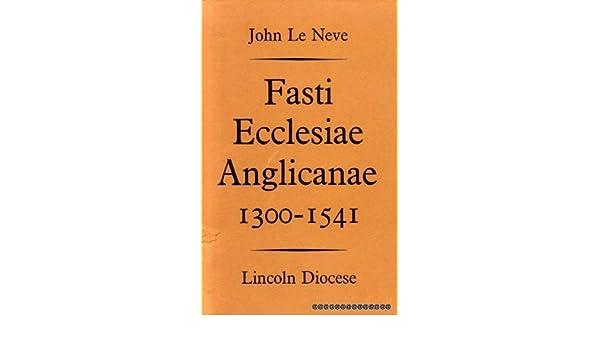 Fasti ecclesiae anglicanae online dating