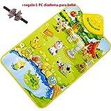Malloom® sonido de música Granja de animales niños juego bebé jugando estera alfombra play mat gimnasio...
