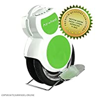 AIRWHEEL Q6 E-Scooter Self Balanced Scooter Electric Unicycle Motor 500W Battery 170Wh Green and White