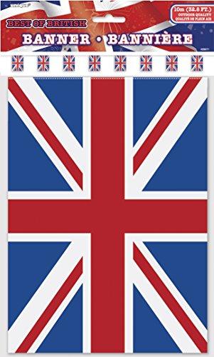 32ft Kunststoff Best of British Union Jack Wimpelkette Flaggen