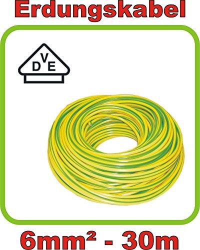 Preisvergleich Produktbild Installationsleitung NYM-J 3X2,5 grau Ring 10 m