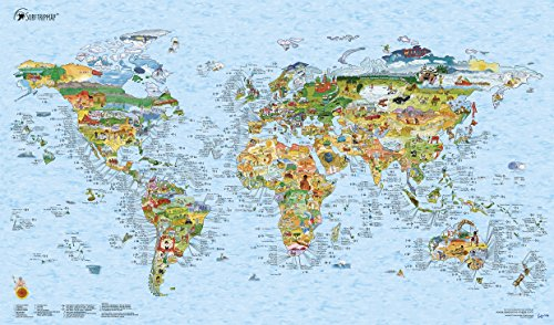 World Surf Map