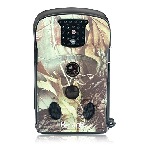 Bestok Hunting Wildlife Camera 12mp 720p 120 Trail Camera 2 4 Lcd Ecran Couleur Capteur Infrarouge Camera De Surveillance De Securite A Domicile Camera Scout Exterieure Etanche Camo Desert