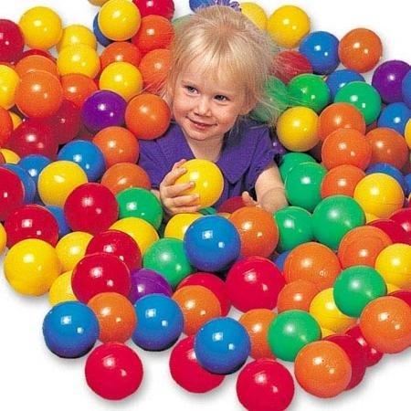 Rivenbert 50 Pelotas , Bolas de Colores niños Juguetes para bebés natación Ball Pool Pelotas natación para Niños Piscina by
