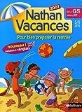 Nathan Vacances de la Grande Section vers le CP : 5-6 Ans