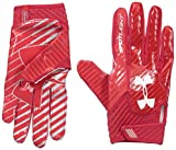 Under Armour Spotlight Amercian Football Receiver Handschuhe - rot Gr. S