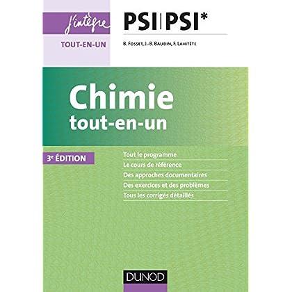 Chimie tout-en-un PSI-PSI* - 3ed