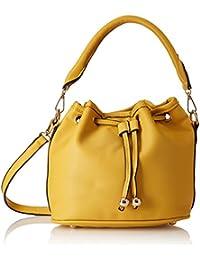 Diana Korr Women's Sling Bag (Yellow) (DK203SYEL)
