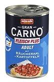 Animonda Gran Carno Hundefutter Adult Rind + Räucheraal mit Kartoffeln, 6er Pack (6 x 400 g)