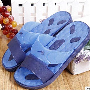 Sommer Sandalen Herren Schuhe Casual Hausschuhe Blau / Grün / Orange Orange