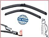 XtremeAutoFront Window Windscreen Replacement Wiper Blades (PAIR)