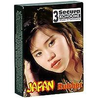 Orion 415057 Secura Japan Rubber 3er Set mit Rillen, Mikrofein gerilltes Kondom in anatomisch enger Passform. preisvergleich bei billige-tabletten.eu