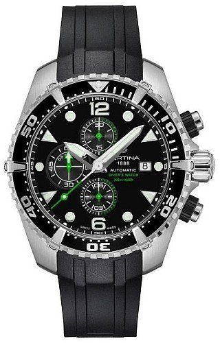Certina Men's DS Action Diver Chronograph Automatic Watch C0324271705100 C032.427.17.051.00