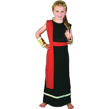 Generique Costume Da Antica Romana Per Bambina 1012 Anni 140152