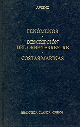 Fenomenos descripcion orbe terrestre cos (B. CLÁSICA GREDOS)