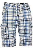 Sublevel Shorts Bermuda Hose, Farbe:Middle Blue;Hosengröße:36