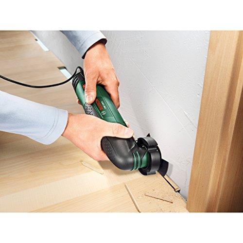 Bosch DIY Multifunktionswerkzeug PMF 190 E Set Anwendung Laminat schneiden