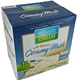 Honest Earth All Natural Instant Creamy Mashed Potatoes Approx 48 Servings 8 Sachets- 6 Servings Each 1088g