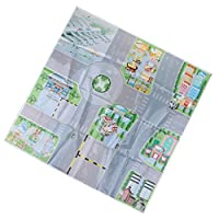 Dailymall Road Sign Drawing Parking Lot Simulated Scene Diagram For Kids Christmas Toy