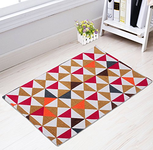 Saral Home Cotton Small Printed Multi Use Runner -50x80 cm