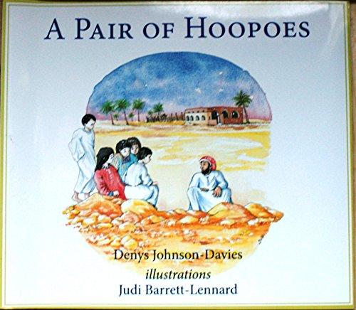 A pair of hoopoes