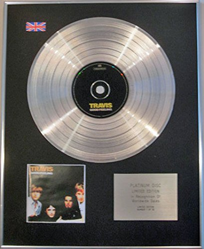Travis-Limited Edition CD Platinum Disc-Gutes Gefühl -