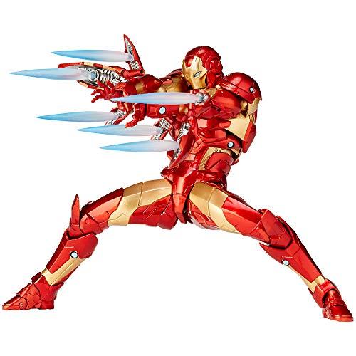 Kaiyodo Amazing Yamaguchi No.013 Iron Man Breeding Edge Armor Iron Man