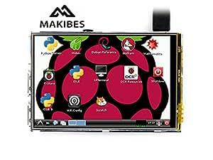 3,5 pouces TFT écran tactile LCD (A) 320 * 480 pour Raspberry Pi 2 Modèle B / Raspberry Pi modèle B / B + / A +