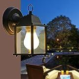 JUIANG Europäische hof außen balkon licht wasserdichte wand lampe industrielle