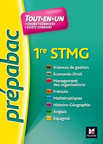 PREPABAC - Toutes les matires - 1re STMG - N13