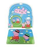 Set/pack vajilla PEPPA PIG 3 PIEZAS Plato, vaso y bwol + salvamantel, oferta exclusiva tiendadeleggings
