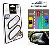 #6: AUTOTRUMP Ipop Flexible Blind Spot Rectangle Shape Convex Side and Rear View Mirror For Hyundai Creta