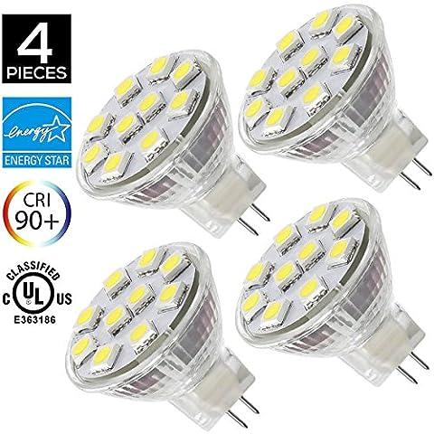 Ampoule Mr11 12 V - Sansun Éclairage 1,8W Ampoules LED MR11GU4.0, équivalent