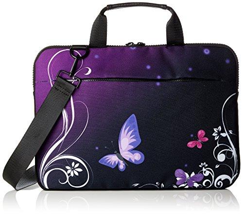 "13"" Zoll Luxburg® Notebook- Laptop Schultertasche, Qualitätsprodukt. Verschiedene Motive"