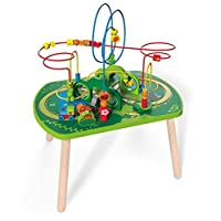 Hape HAP-E3801 International E3801 HAP Jungle Play and Train Activity Table