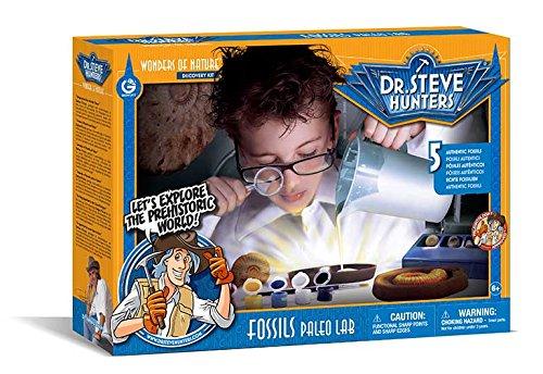 Geoworld - Fossils Paleo Lab, Kit (DeQUBE Trading S.L. ED505K)