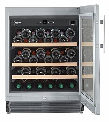 Liebherr UWKes 1752 GrandCru - wine coolers (freestanding, Stainless steel, 5 - 20 °C, SN, ST, A, Stainless steel) from Liebherr