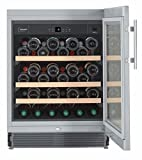 Liebherr UWKes 1752 GrandCru Independiente Acero inoxidable 46botella(s) A -...