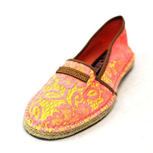 Juicy Couture Espadrilles Bright, misura 4, (Orange-yellow), 36.5