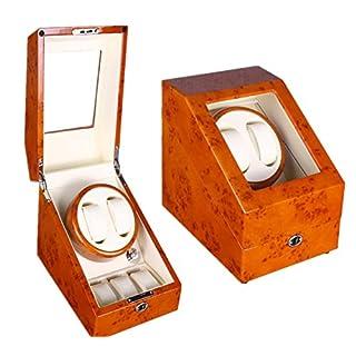 AMYMGLL 2 +3 automatische Aufzug Box mechanische Uhr Rotationsmotor auf der Uhr Box schütteln Tisch (kann 5 Uhren setzen) , 006