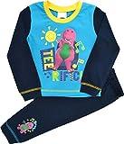 Barney Baby Jungen (0-24 Monate) Zweiteiliger Schlafanzug Blau Blau