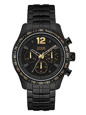 Guess Reloj Cronógrafo para Hombre de Cuarzo con Correa en Acero Inoxidable W0969G2